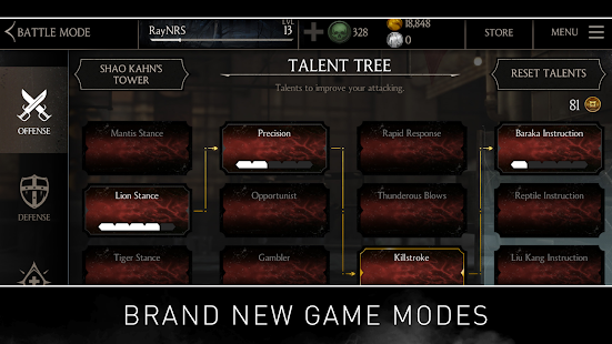 MORTAL KOMBAT X apk screenshot