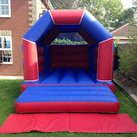 Red/Blue Castle for Hire in Surbiton and Surrey