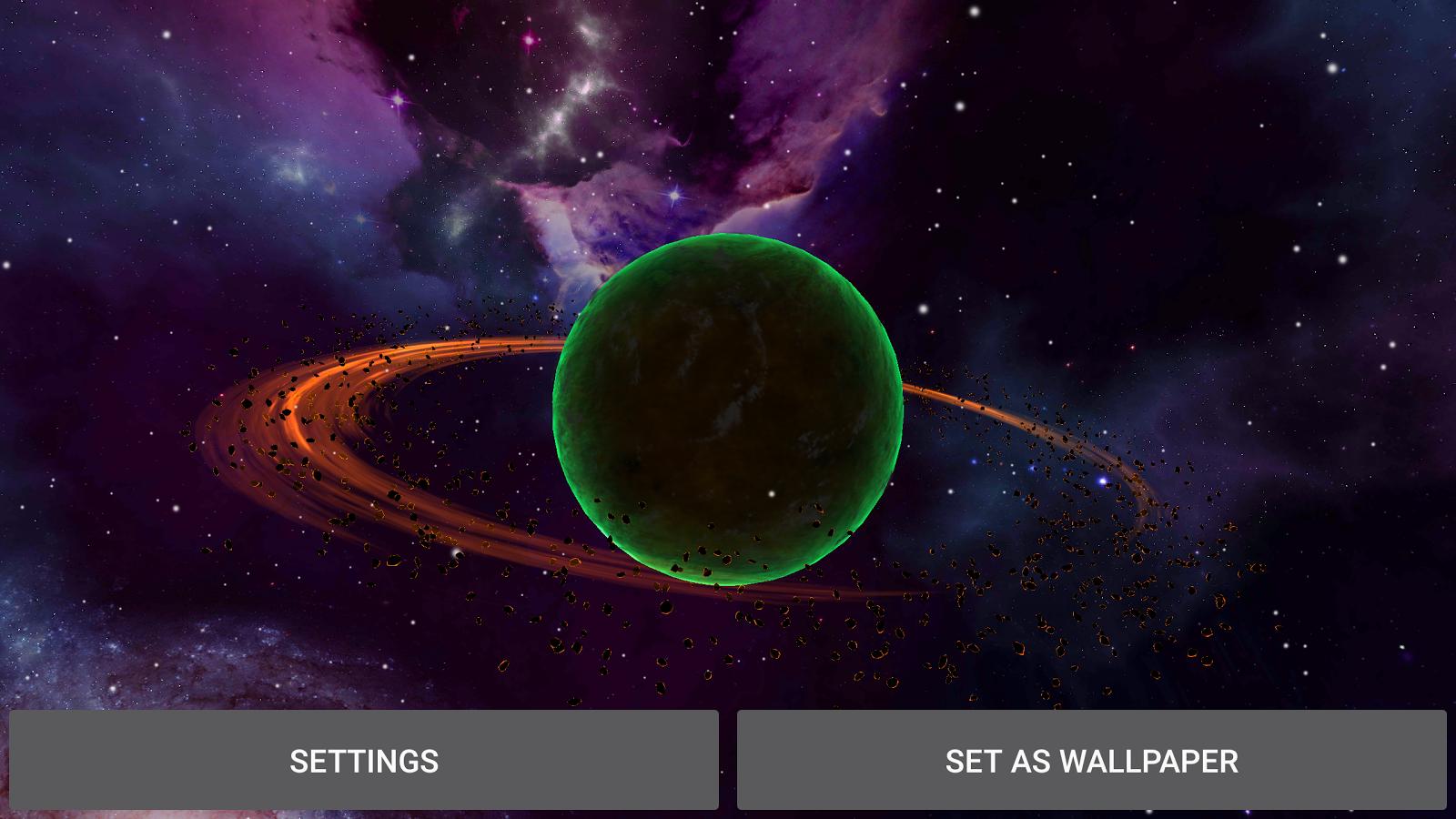 Alien Planets Live Wallpaper Screenshot 16