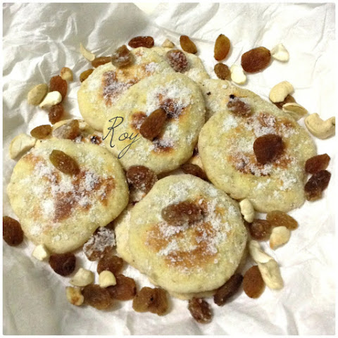 Vanilla cookies/Tea Cake on a skillet/Pan (No bake/No Oven)