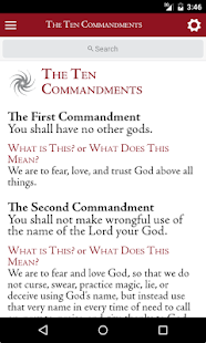 Luther's Small Catechism - screenshot