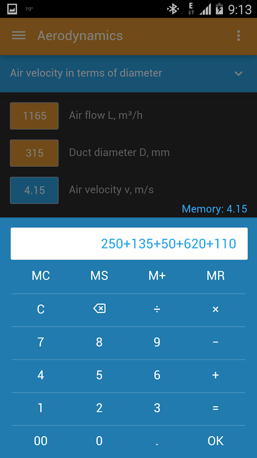 HVAC Calculator Pro Screenshot 3