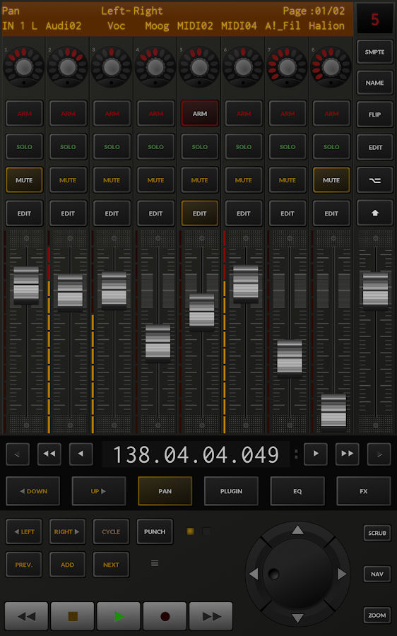 TouchDAW Screenshot 8