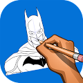 Download How to Draw Bat Hero APK on PC