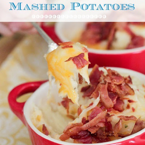 Bacon, Ranch and Cheddar Mashed Potatoes
