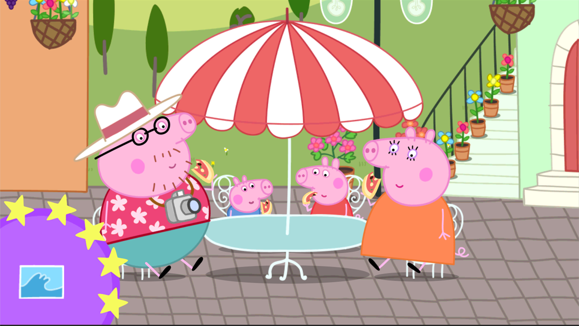 Peppa Pig: Holiday Screenshot 0