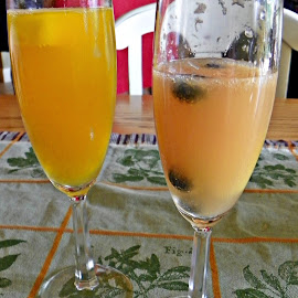 Mimosa  by Sandy Stevens Krassinger - Food & Drink Alcohol & Drinks ( fruit, alcohol, juice, mimosa, drinks )