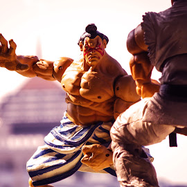 Round 1.. Fight! by Iqbal Musthapa - Artistic Objects Toys