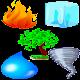 Fire Water Ice Wind Tree VIP