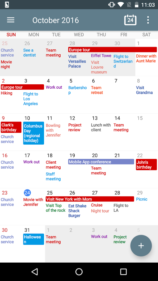Calendar+ Schedule Planner Screenshot 0