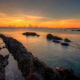 Pandak Beach, Terengganu , Malaysia by Amie Suhaimi - Landscapes Sunsets & Sunrises