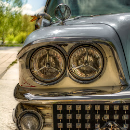 Buick Headlamps by Bojan Bilas - Transportation Automobiles