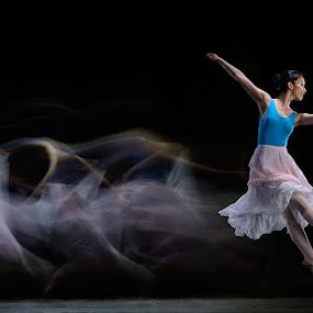 Ballet Dance by SUGIANTO SUPARMAN - People Fine Art