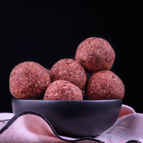 Chocolate and Raspberry Bliss Balls