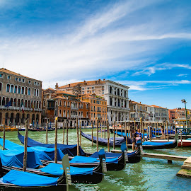 venetian morning  by Niroshan Muwanwella - City,  Street & Park  Vistas