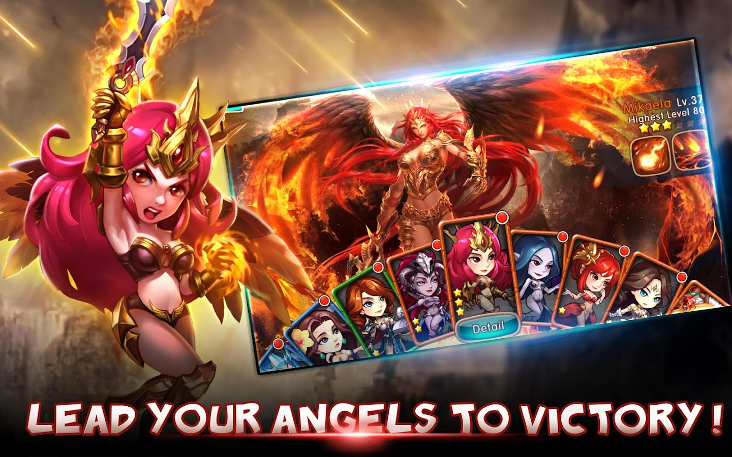 League of Angels -Fire Raiders Screenshot 2