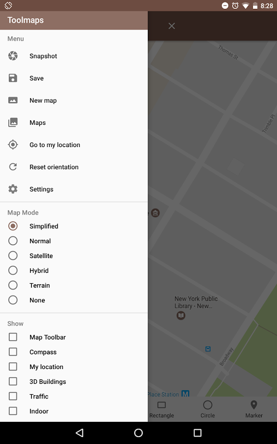 Tools for Google Maps Screenshot 9