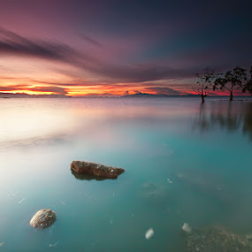 the colors of dawn by Rodrigo Layug - Landscapes Waterscapes ( nature, waterscape, landscape )