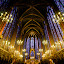 St. Chapelle Paris by Dee Zunker - Landscapes Travel ( paris, st. chapelle, france, building, interior, worship )