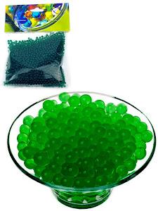Гидрогелевые шарики S, зеленые
