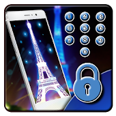 APK App paris night neon eiffel tower for BB, BlackBerry