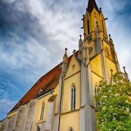 Church in Melk by Radu Eftimie - Buildings & Architecture Places of Worship ( church, melk, austria )