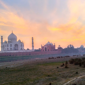 Golden Tajmahal by Ishrar Khan - Buildings & Architecture Architectural Detail
