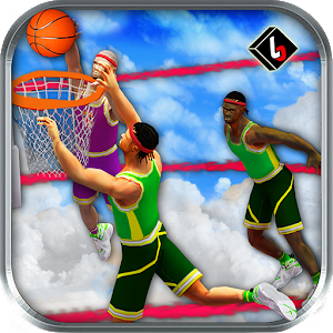 Flying Basketball Slam Dunks Icon