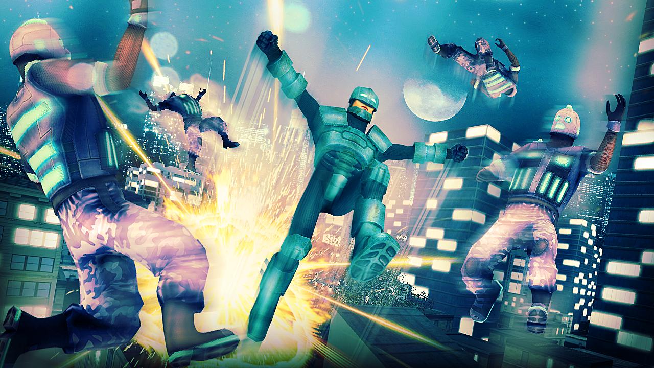 Bat Superhero Battle Simulator android apps download