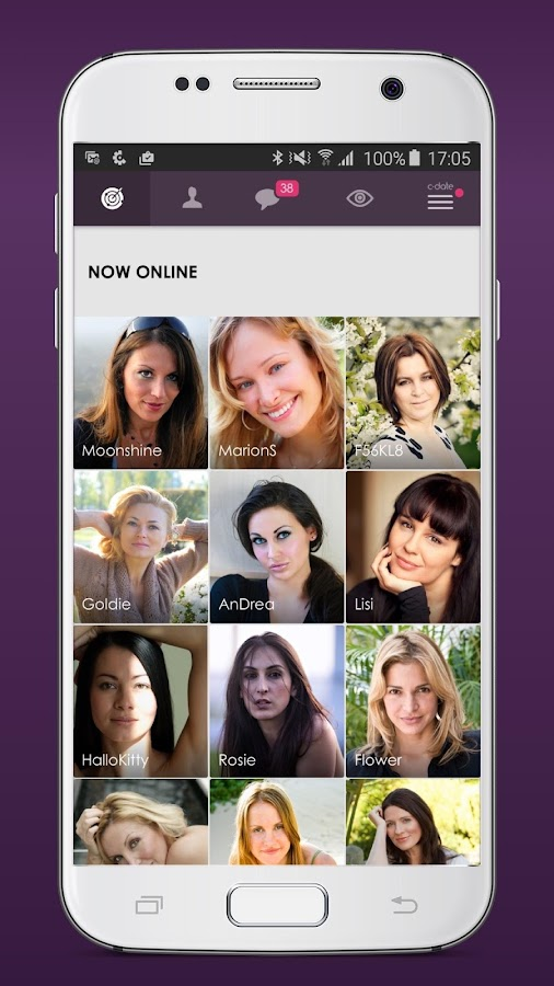 C-Date – Dating with live chat Screenshot 1