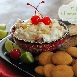 Tropical Cheesecake Dip