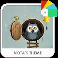 Owl Story Xperia Theme