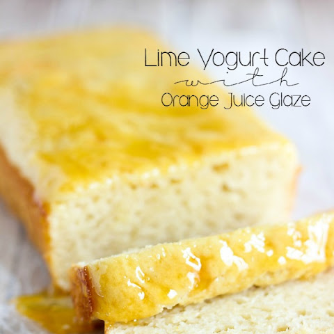 Lime Yogurt Cake