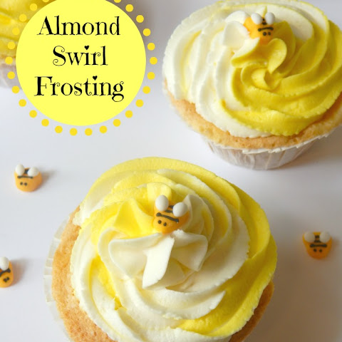 Almond Swirl Frosting Recipe & Tutorial