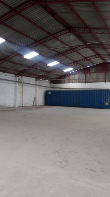 Galpão industrial para locação, Centro, Embu das Artes.