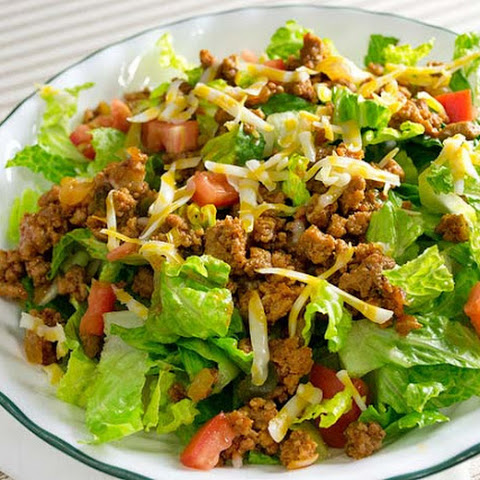Low Carb/Low Sodium Taco Salad