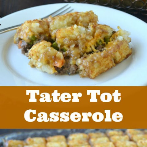 Classic Tater Tot Casserole with No Canned Soup