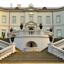 Tyszkiewicz Palace by Tomasz Budziak - Buildings & Architecture Public & Historical ( architecture, lithuania, palace )