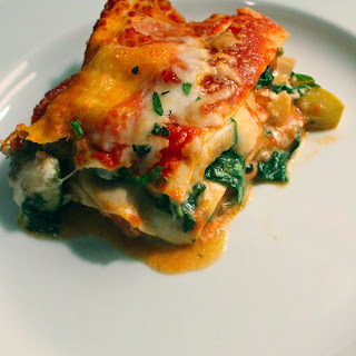 Fresh Spinach Vegetable Lasagna Recipes
