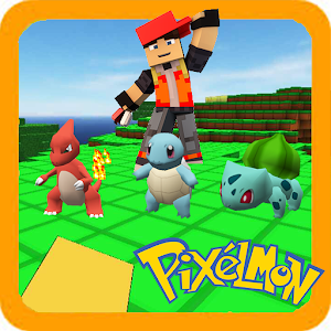 Perfect Pixelmon world for craft & build : 3D PE For PC