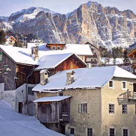 Old House by Gianni Frasca - Buildings & Architecture Homes ( mountains, old, italia, snow, house, alps )