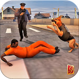 Police Dog Chase Mission Game Icon