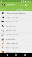 Screenshot of ElectroDroid Pro