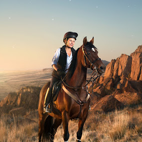 Ride by Braxton Wilhelmsen - Animals Horses ( horseback riding, retouching, utah, antelope island, advertising, sports, english style, braxton bruce wilhelmsen, equestrian, photography )