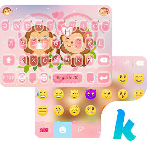 Valentine Kika Keyboard Theme