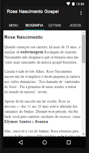 Rose Nascimento Gospel - screenshot