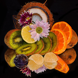 fruits,candys and flowers by LADOCKi Elvira - Food & Drink Fruits & Vegetables