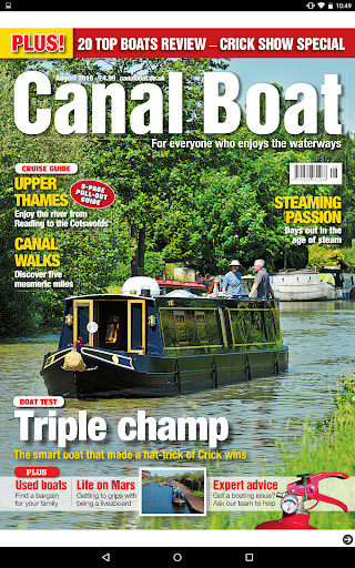 Canal Boat Magazine - screenshot