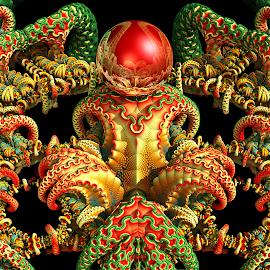 MB3D - 727 by Siniša Dalenjak - Illustration Abstract & Patterns ( mandelbulb, 3d, fractal )