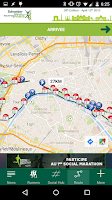 Screenshot of Paris Marathon 2015